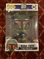 "Funko POP! Star Wars #367 Boba Fett 10"" inch Target Exclusive Figure IN HAND!!"