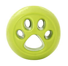 Planet Dog Orbee-Tuff Nooks Lime Green Paw Ball Toy for Dogs