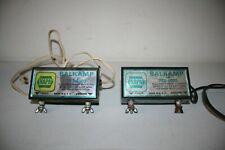 Lot of 2 Napa Balkamp 782-8000 Electric Fence Charger 14 Watt Max 12-586