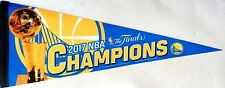 Golden State Warriors 2017 NBA Champions Premium Pennant