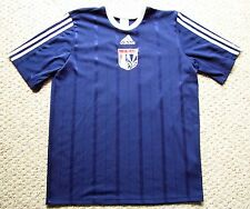ADIDAS CLIMALITE SHORT SLEEVE SOCCER POLO MEN'S M UNITED SOCCER ATHLETES SMALL