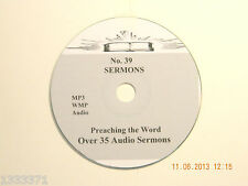 No 39,  Over 35  Audio Sermons, MP3 one CD