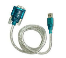 USB to RS-232 RS232 DB9 Male Adapter 9-pin Serial Cable Windows 7/8/10 No CD