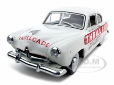 1951 KAISER HENRY J THRILLCADE WHITE PLATINUM 1:18 MODEL CAR BY SUNSTAR 5095
