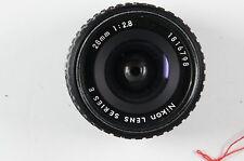 Nikon 28mm 1:2.8 Serie E