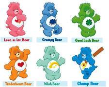 Care Bears -  Bear 6 pack #2  T-shirt Iron on transfer 8x10