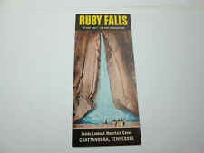 Vintage Ruby Falls Chattanooga Tennessee Ephemera Brochure Advertisement