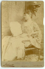 VINTAGE RARE IRISH EUROPEAN ROYALTY: Ireland's Royalty Lady Hesketh Cabinet Card