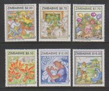 Zimbabwe - 1999, Christmas set - MNH - SG 998/1003