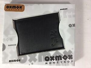 OXMOX Leather Pocketbörse Lizard, Neu,