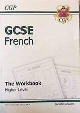CGP GCSE French Workbook Higher Level (AQA, Edecel, OCR), Includes Answers