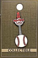 Hard Rock Cafe Chicago Pin Core Baseball Guitar 2017 MLB New LE # 99560