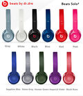 Genuine Beats by Dr. Dre Solo2 Wired On Ear Headband Headphones Multiple Colors