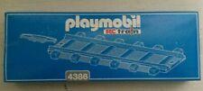 Playmobil 2 gerade Gleise 4386 mit OVP Schienen Eisenbahn Zug Lok