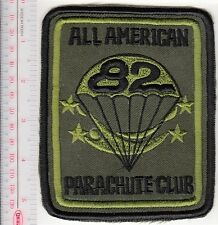 Freefall US Army 82nd Airborne Division Sport Parchute Club All American acu