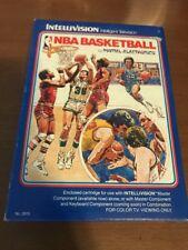 NBA BASKETBALL FOR INTELLIVISION