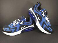 Nike Air Max 200 Royal Blue Black White Size 7Y Women's 8.5 AT5627-402