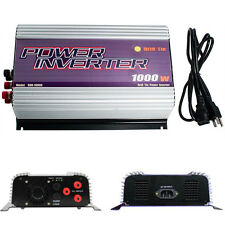 1000 Watt 22-60VAC to 110VAC Grid Tie Power Inverter for Wind Turbine stackable