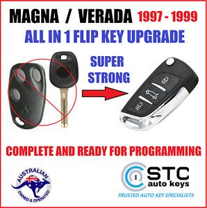 FOR MITSUBISHI MAGNA TF VERADA KF REMOTE CAR FLIP KEY FOB 1997 1998 1999