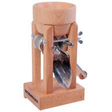 Eschenfelder Kornquetsche Tischmodell Holztrichter mit Zwinge Flockenquetsche