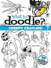 What to Doodle? Creepy Crawlies! Child draw sketch *BRAND NEW*