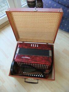 Knopfakkordeon Handharmonika Meteor