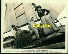KATHARINE HEPBURN DAVID MANNERS HERBERT MARSHALL VINTAGE 8X10 PHOTO 1936 ON SHIP