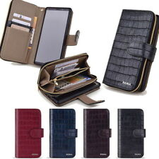 Reina Wallet Case for Samsung Galaxy Note10 Note9 Note8 Note7 Note5 Edge 4 3 NEO