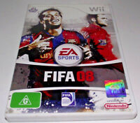 FIFA 08 Nintendo Wii PAL *Complete* Wii U Compatible A-League