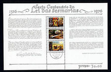 Portugal 1976 Droit des sesmarias question Minisheet SG MS1609 VFU