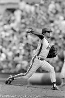 Original 35MM B&W Negative, New York Mets Ron Darling