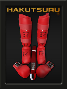 Hakutsuru Competition Box  - 5 pcs (Red) - Hakutsuru Equipment