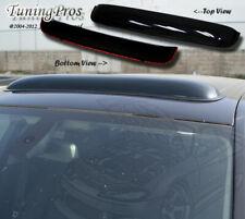 Lincoln Zephyr 2006-2012 5pc Wind Deflector Outside Mount Visors & 3.0mm Sunroof