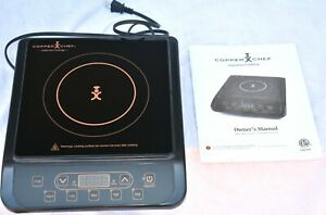Copper Chef Induction Cooktop KC16067-00300 Black 1300W, New No Box