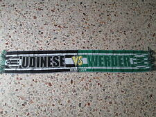 sciarpa UDINESE - WERDER BREMEN europa league 2009 club football calcio scarf