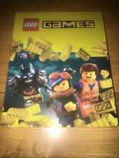 Lego Games Steelbook (NO GAME, new Rare