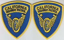 California Highway Patrol EXPLORER PROGRAM patches CHP police motorcycle wings