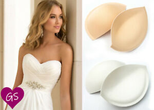 Sew in Bra Cups - Perfect for Wedding Dresses & Dress-Making Sizes AA - E Cup