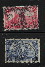 Germany Turkey 21,22 used catalog $85.00 Ms0201
