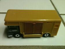 "1977 MATCHBOX TRUCK & HORSE TRAILER/BOX DIE CAST 3"" L 1:64"