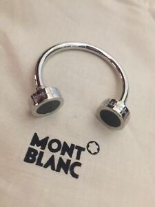 montblanc onyx key holder stainless steel collection good condition + extras