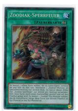 zoodiak-sperrfeuer mp17-de212, Secret Rare, MINT, 1ª edición, Alemán