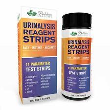 11 Parameter Urine Test Strips for UTI, Glucose, Ketone, pH, Protein, Blood...