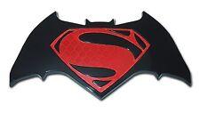 Batman v Superman Auto Emblem (Acrylic Superbat) Dawn of Justice DC Comics