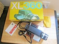 Kodak XL 360 Vintage 1970s Movie Camera With Box
