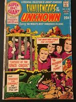 SUPER DC GIANT PRESENTS CHALLENGERS OF THE UNKNOWN. NO.25. BRONZE AGE 1971.