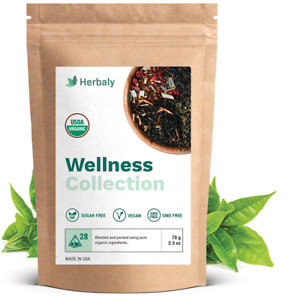 Herbaly Wellness Collection Tea - Support healthy blood sugar levels