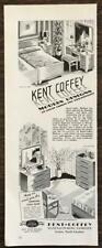 1942 Kent Coffey Furniture Print Ad Modern Designs of Great Charms & Versatility