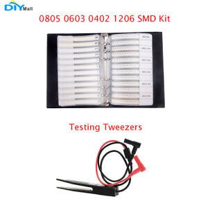4250 Piezas 170 Valores 1206 SMD Resistores sobre Chip 0 ILS 10 m 1/% Surtido Kit de Muestra