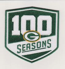 """GREEN BAY PACKERS 100th SEASONS JERSEY PATCH SET 4"""""""